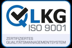 QLKG ISO 9001 Siegel